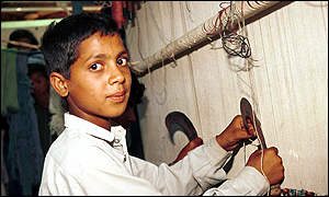 Child Labor in the Carpet Rug Industry Pakistan
