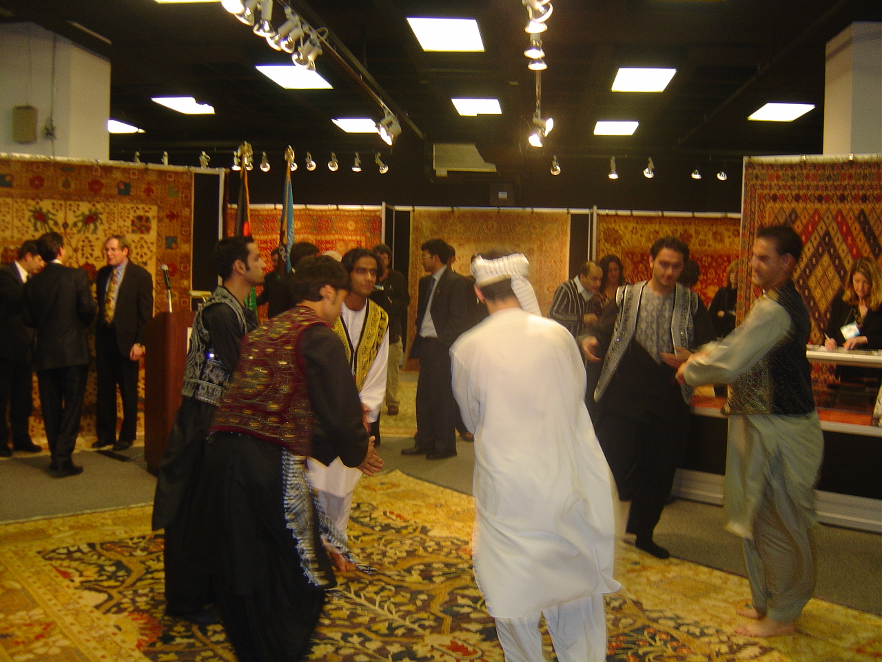 Afghan Rugs In The Atlanta Rug Show