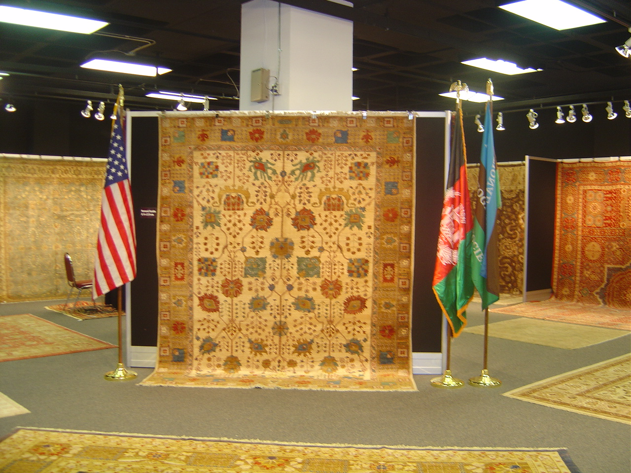 Afghan Rugs In The Atlanta Rug Show