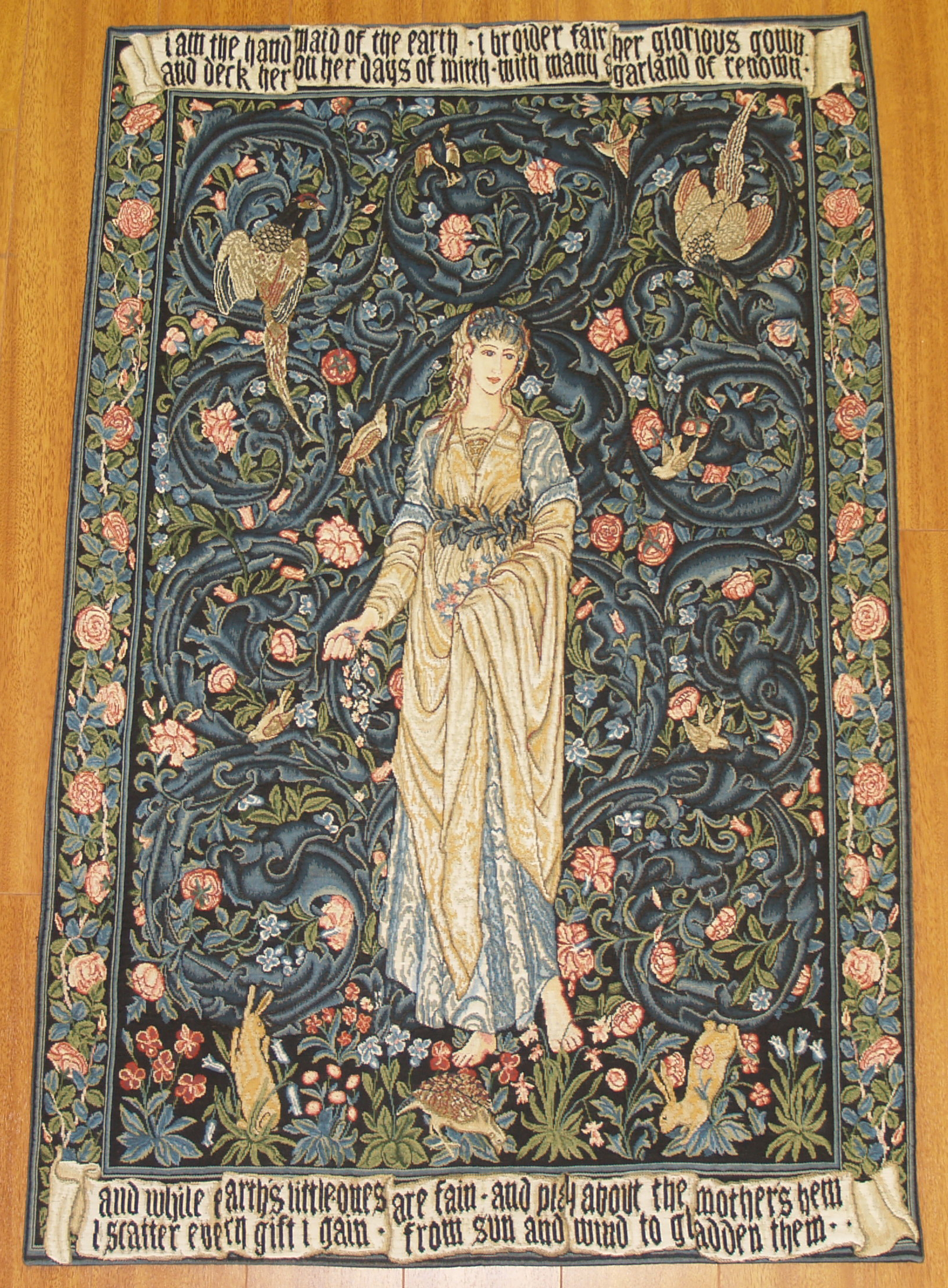 Tapestries on pinterest medieval tapestry wall for The tapestry